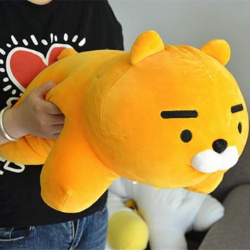 1pc 55cm Kakao Friends Plush Dolls Stuffed Kawaii Cartoon Figure Toys Ryan Cute Cocoa Kids Children Love Toys Gift Soft Pillows