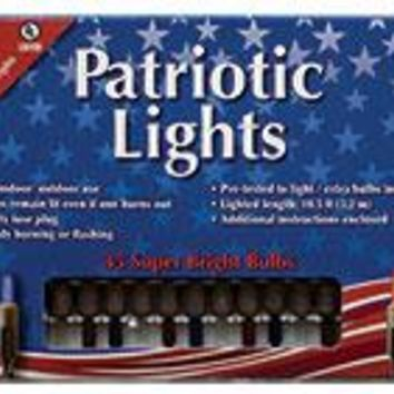 Patriotic Lights - 35 ct