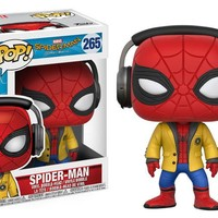Spider-Man with Headphones Funko Pop! Marvel Spider-Man Homecoming