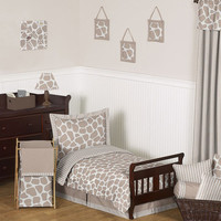 Sweet Jojo Designs Giraffe Toddler Bedding Collection 5 Piece Set