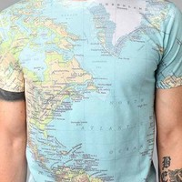 Altru Around The World Tee- Blue