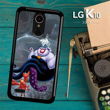 Ursula Octopus Little Mermaid D0096 LG K10 2017 / LG K20 Plus / LG Harmony Case