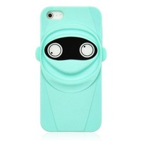 Cute Mint Ninja Phone Case For iPhone 5