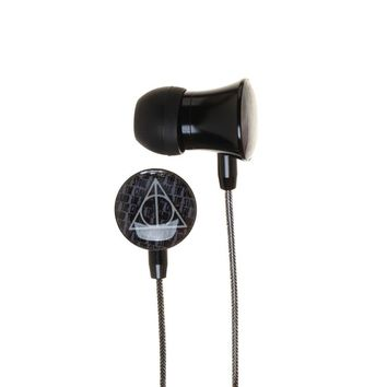 MPEB Harry Potter Ear Buds Deathly Hallows Accessories Harry Potter Headphones - Harry Potter Accessories Deathly Hallows Gift