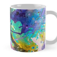 'Abstract Acrylic Painting' Mug by Maria Meester