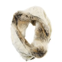Aerie Knit Faux Fur Snood | Aerie for American Eagle