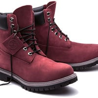 Timberland | Burgundy 6-Inch Boot | Limited Release