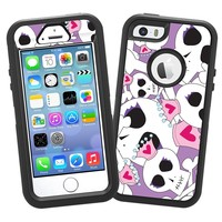 """Skull Princess """"Protective Decal Skin"""" for OtterBox Defender iPhone 5s Case"""