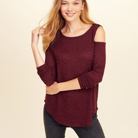 Girls Must-Have Cold Shoulder T-Shirt | Girls Tops | HollisterCo.com