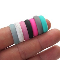 Fashionable Hypoallergenic Flexible Silicone Rubber Ring—Rings For Woman & Man