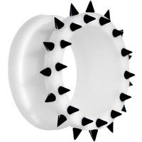 20mm White Black Silicone Spiked Flexible Tunnel