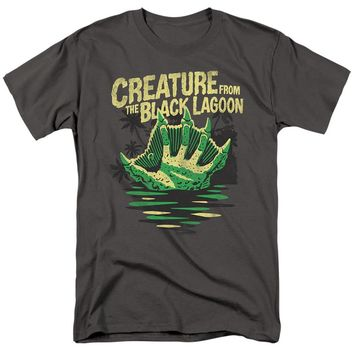 Creature from the Black Lagoon T-Shirt Hand Charcoal Tee