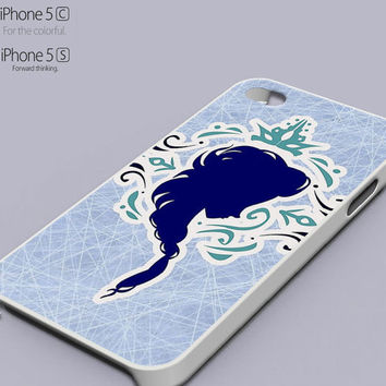 Elsa Frozen Silhouette Popular Phone case for iPhone 4/4s, iPhone 5/5s/5c, Samsung Galaxy s3,s4,s5