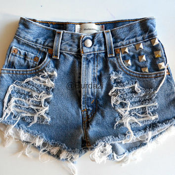 "One of a Kind ""Aphrodite"" 21/22 High Waisted Shorts"