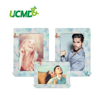 "6"" x 4"" Inch Fridge Photo Frame Lovely Colorful Retro Cartoon  Magnet Picture Frames  3 Pieces / Set New Arrival"
