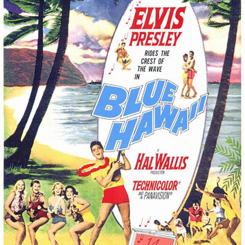 Blue Hawaii 11x17 Movie Poster (1961)