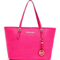 MICHAEL Michael Kors  Jet Set Small Travel Tote, Zinnia - Michael Kors