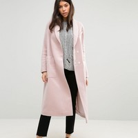 ASOS Swing Coat in Wool Mix at asos.com
