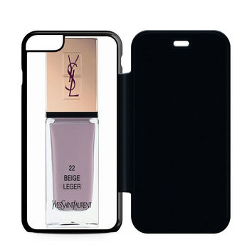 Yves Saint Laurent Beige Leger Flip Case iPhone 6 | iPhone 6S | iPhone 6S Plus  Case