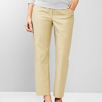 Gap Women Full Panel Tailored Crop Pants
