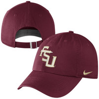 Nike Florida State Seminoles :FSU: 2014 New Logo 3D Tailback Adjustable Performance Hat - Garnet
