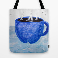 The Wind in Your Sails Tote Bag by Robin Maria Pedrero