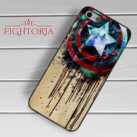 melting shield captain america-yah for iPhone 4/4S/5/5S/5C/6/ 6+,samsung S3/S4/S5,S6 Regular,S6 edge,samsung note 3/4