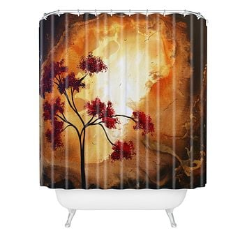 Madart Inc. Empty Nest 1 Shower Curtain