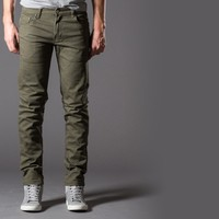 [True Grit] Slim Jeans in Olive