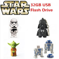 Star Wars USB 2.0 Flash Drive Memory Stick 8GB 16GB 32 GB 64GB