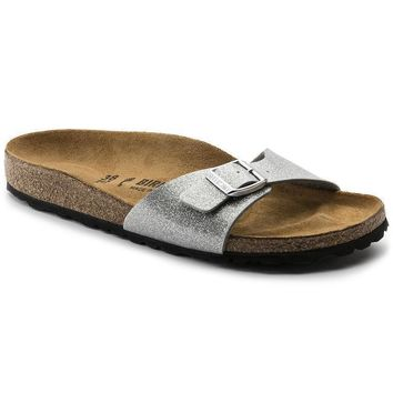 Sale Birkenstock Madrid Birko Flor Magic Galaxy Silver 438083 Sandals