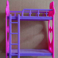 1 Set Barbie Beds With Ladder Bedroom Furniture HU