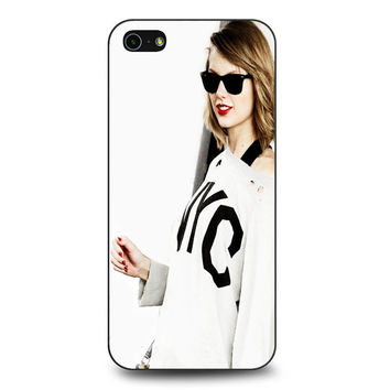 taylor swift cover white iPhone 5 | 5S Case
