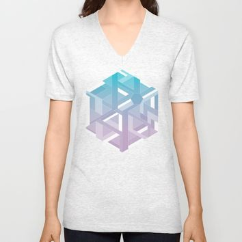 Six  Unisex V-Neck by eDrawings38