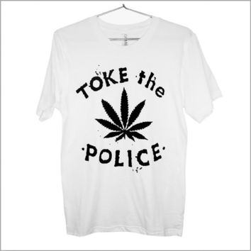 Toke the Police T-shirt UNISEX sizes S-2XL