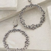 Filigree Garland Hoops by Anthropologie