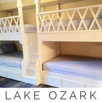 Lake ozark Adult bunk beds, Quad Bunkbeds for Adults