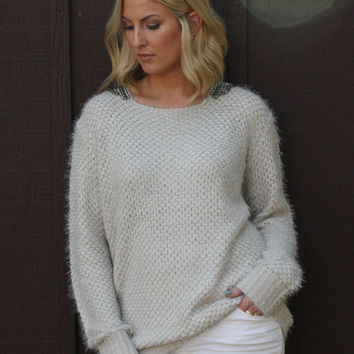Beaded Bliss Sweater