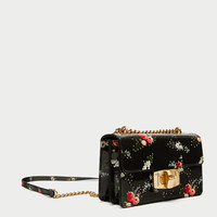 FLORAL PRINT CROSSBODY BAG - View all-BAGS-WOMAN | ZARA United States