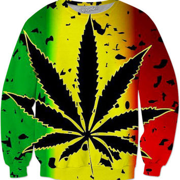 The Perfect Pot Leaf Sweater For Any Stoner!!