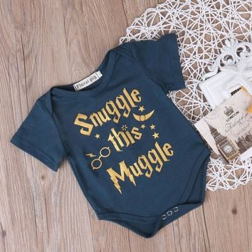 "Boys and Girls ""Snuggle this Muggle"" Clothes"