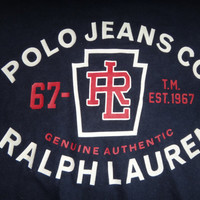 Polo Jeans Co by Ralph Lauren T-Shirt RL 67 Genuine Authentic Polo