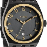 Nixon Monopoly Gun'N'Gold Analog Watch
