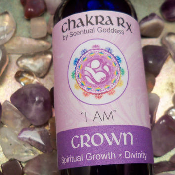 "Crown Chakra Spray ""I AM"" Open Your Connection To The Divine, Spirit & Your Soul or Higher Self"