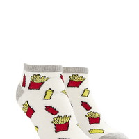 Fries Graphic Ankle Socks | Forever 21 - 2000177562