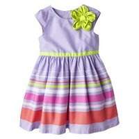 Cherokee® Infant Toddler Girls' Cap Sleeve Dress -