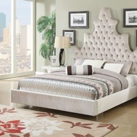 Acme Furniture 25030Q Honesty Queen Bed Plush