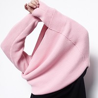 Essential Knit Sweater | Pink