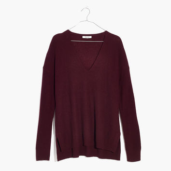 Warmlight V-Neck Pullover Sweater : shopmadewell pullovers | Madewell