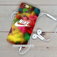 Nike Colorfull Bomb iPhone Case 4 4s 5 5s 5c 6 6s Plus Hard Case Cover